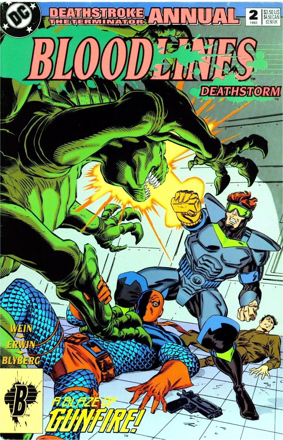 Deathstroke (1991) Annual 2 #2 - English 1