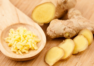 Poultices of ginger to care for kidneys