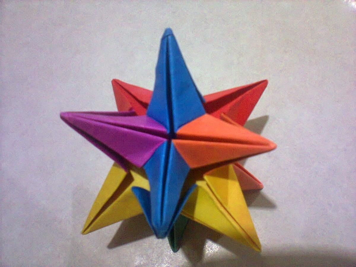 Papiroflexia en la escuela - Origami de una estrella ...