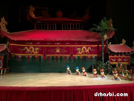 Water Puppet Theatre di Vietnam