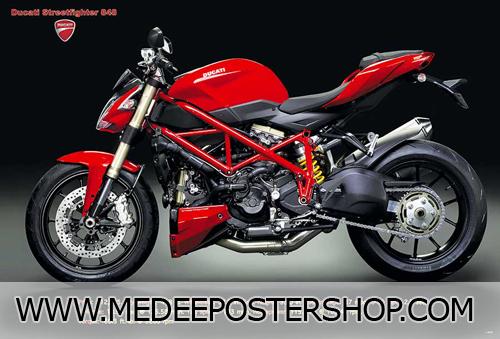 Ducati Big Bike Poster - 4899