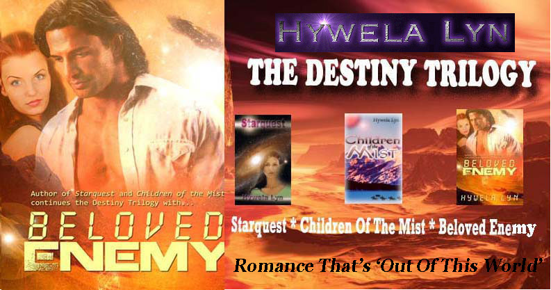 Romance that's 'Out of This World'  Official blog of Hywela Lyn
