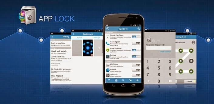 برنامج applock 2014 لغلق الملفات برقم سرى للاندرويد اخر اصدار