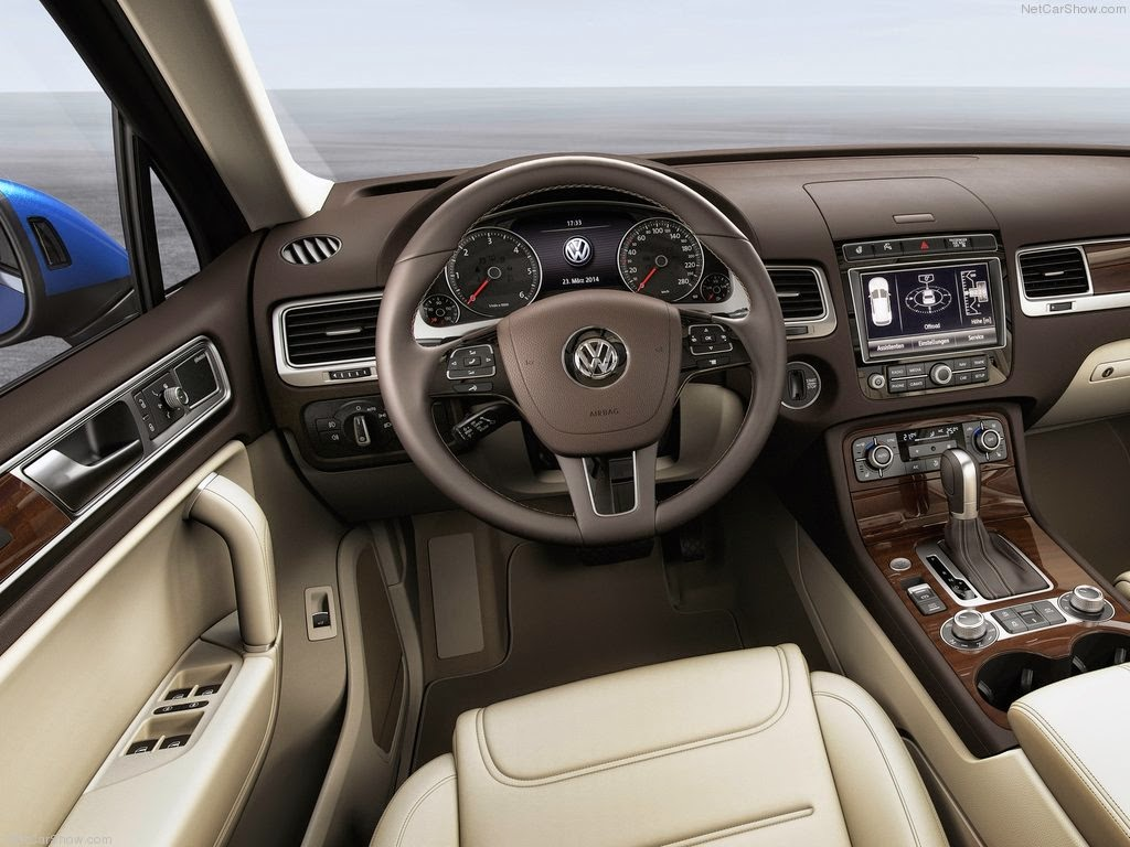 2015 Volkswagen Touareg - Exterior design and features Wallpaper Background