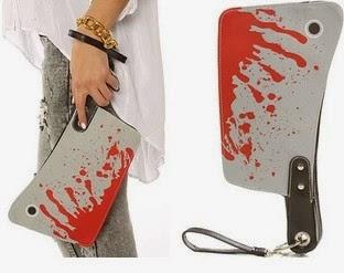 Bolso de cuchilla sangrienta