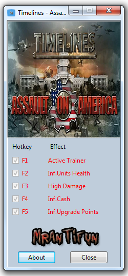 Timelines - Assault on America Trainer +4 Game update #3 MrAntiFun