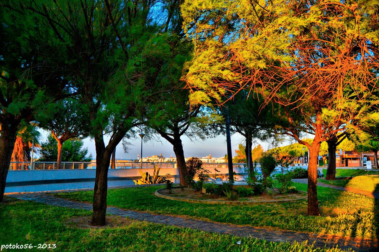 Parque la Miga del Chorrillo en Rota