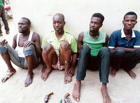 hired killers arrested lagos