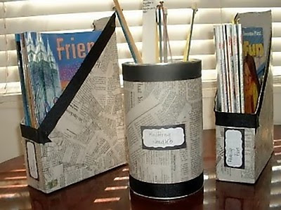 Creative and Cool Ways to Reuse Old Newspapers (30) 16
