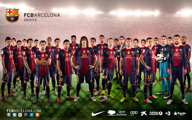 Wallpaper Tim Barcelona