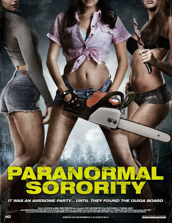 Paranormal Sorority poster