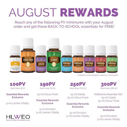 Young Living's August Promotion