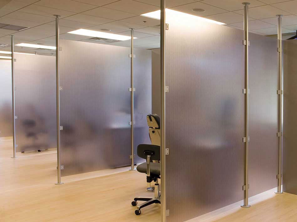 See Through Room Divider