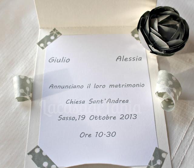 partecipazione Sposa Metalromantica