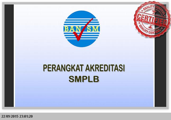 Perlengkapan Akreditasi SMP dilengkapi dengan INTRUMEN dan SKORING File Edukasi