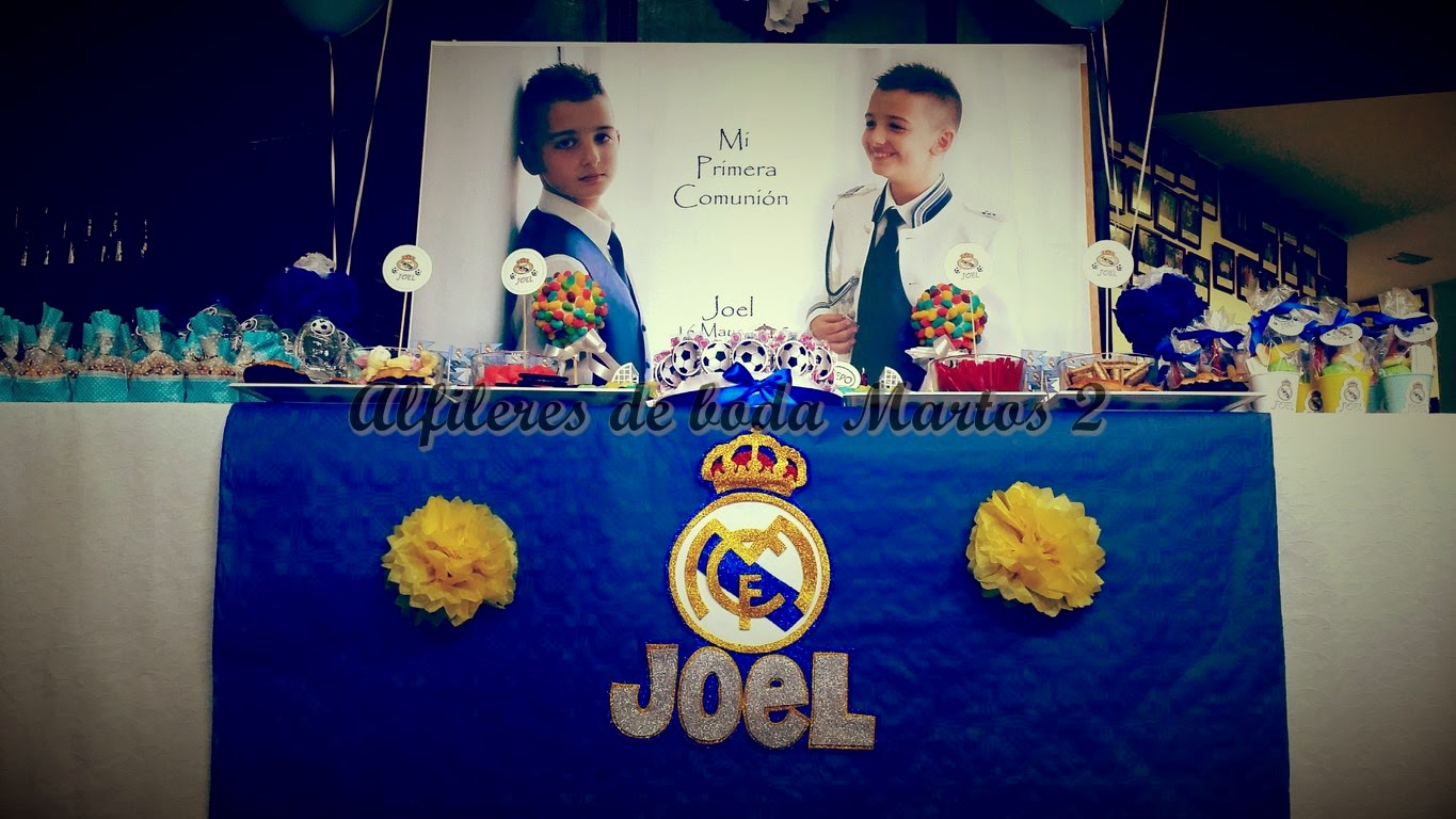 Alfileres de boda martos 2 decoracion mesa de comunion real madrid decoracion mesa de comunion real madrid azul y blanco joel thecheapjerseys Choice Image