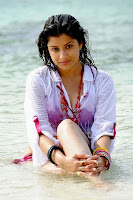 Madhurima Hot Stills at Beach