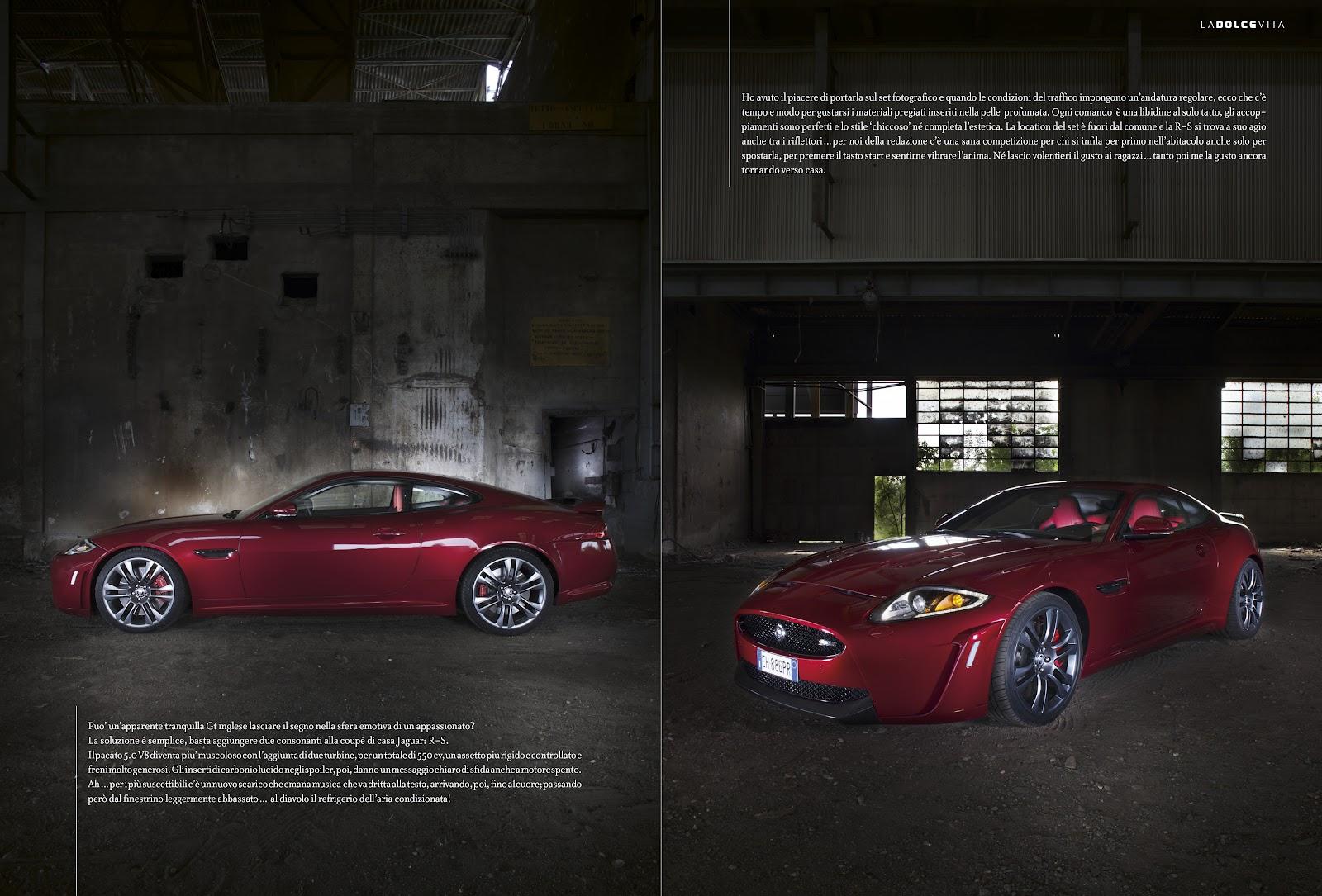 claudio amadei revolution ed estate nuova jaguar xk r s 550cv. Black Bedroom Furniture Sets. Home Design Ideas