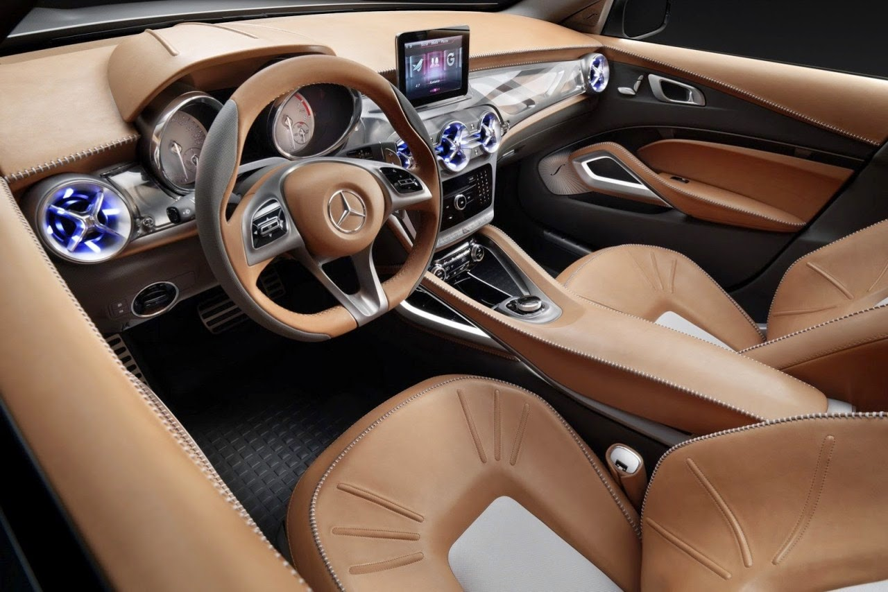 Automotivegeneral 2015 Mercedes Benz Suv Interior Wallpapers