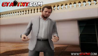 GTA SA - Skin Michael From GTA V