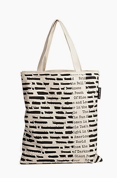 Banned Books Literary Tote Bag