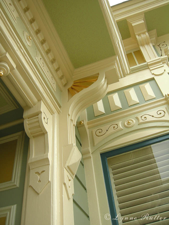 The ornamentalist exterior color noe valley victorian for Victorian house trim