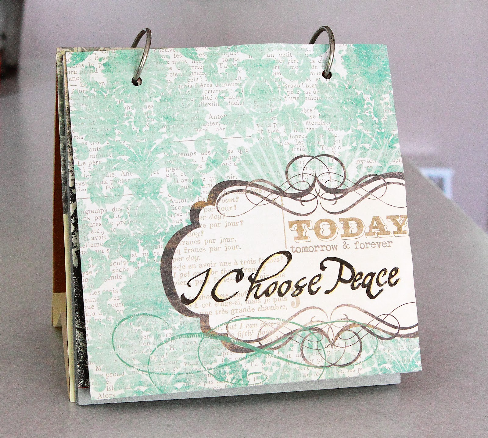 Diy Quote Calendar : One of a kind diy flip book