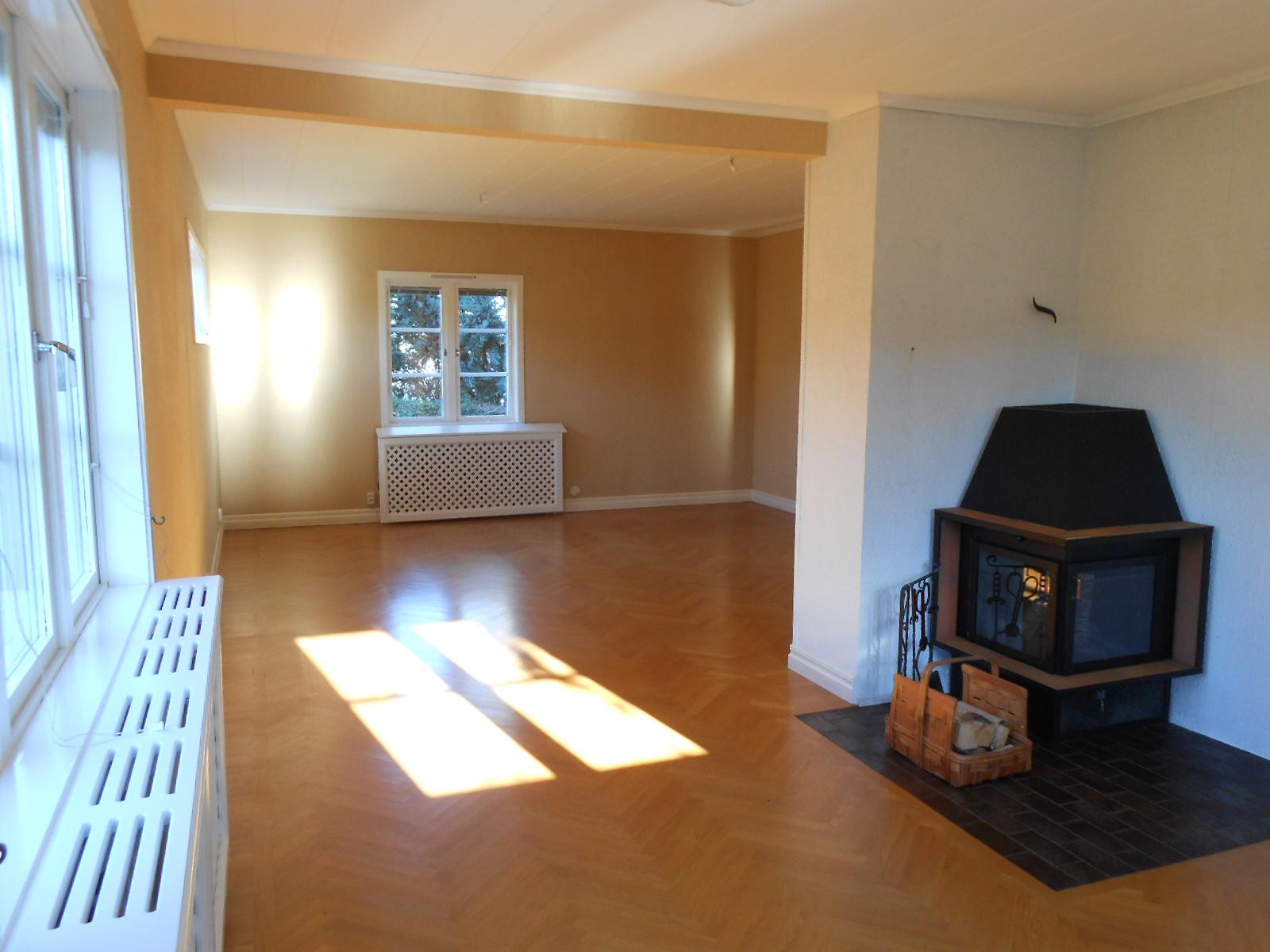 Det nya huset: nu är det nya huset vårt!