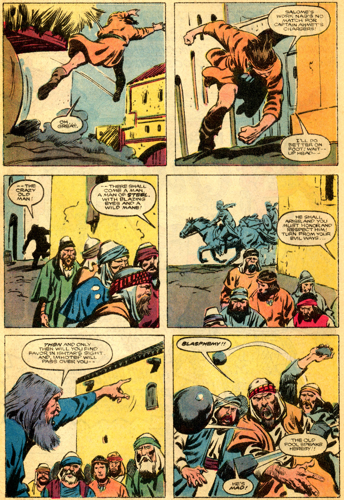 Conan the Barbarian (1970) Issue #179 #191 - English 6