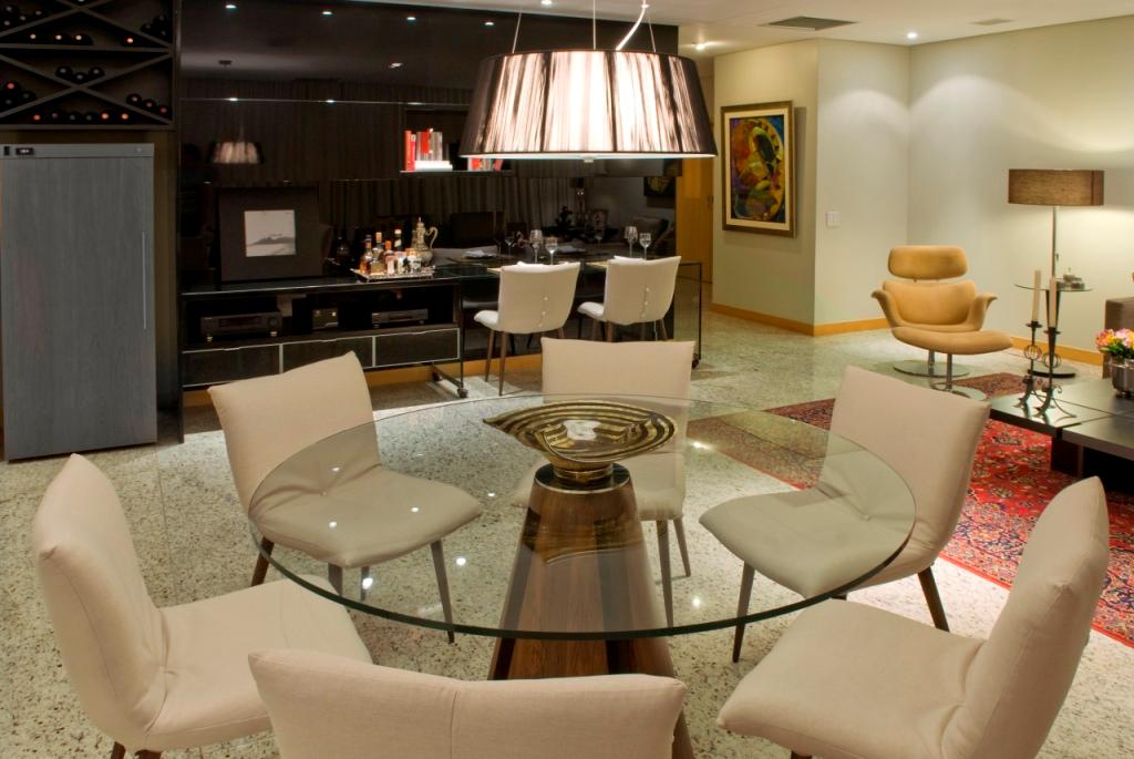 Salas de jantar 50 modelos maravilhosos e dicas de como - Mesas redondas pequenas ...