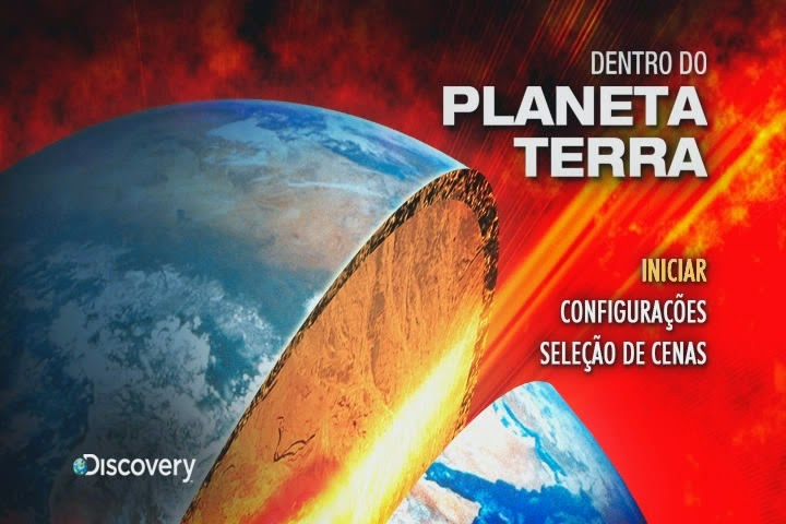 Discovery Channel Dentro do Planeta Terra DVD-R 79388058635964904899