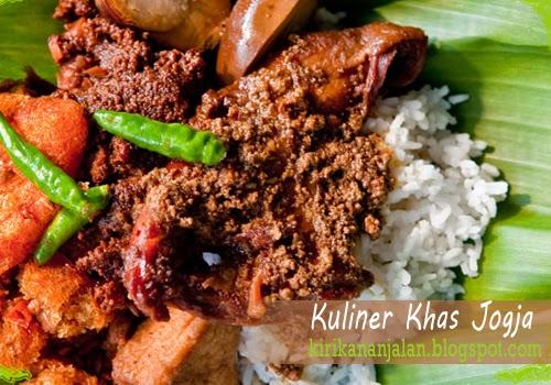 Daftar Nama Kuliner Khas Yogyakarta Yang Terkenal Enak