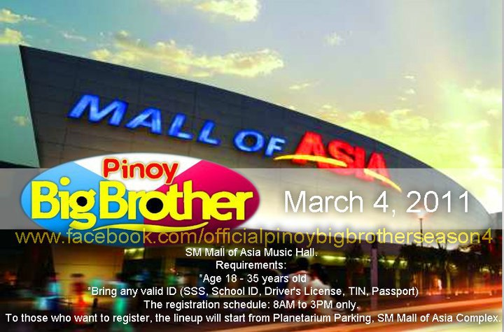 March 4 in SM MALL OF ASIA MUSIC HALL! Registration starts at 8AM to