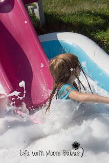 Giant Bubble Splash