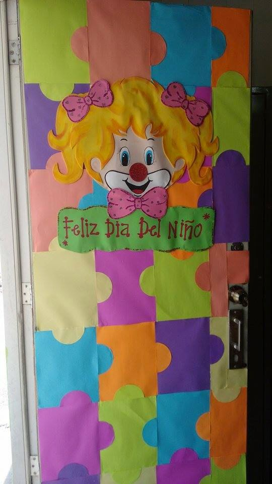 Proyectos educativos y m s ideas para decorar puertas for Puertas decoradas para el 10 de mayo