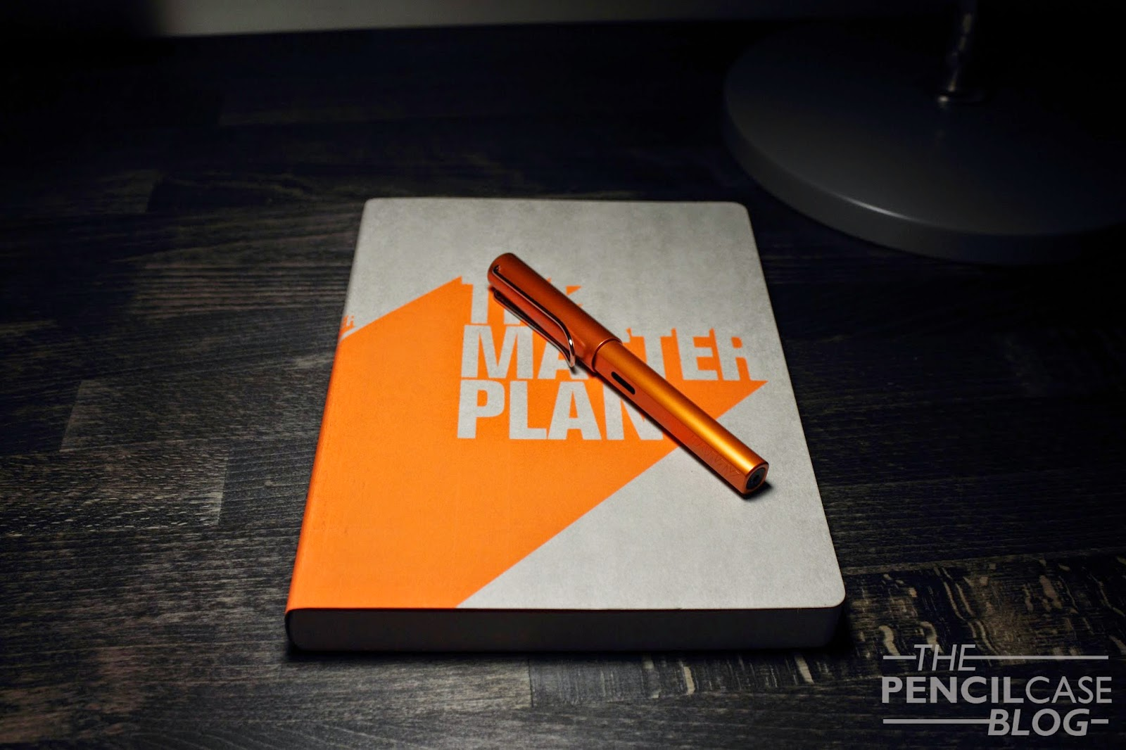 Nuuna Graphic L notebook and Lamy Al-Star Copperorange fountain pen