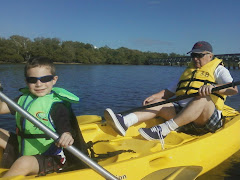Sir Miles & PA kayacking