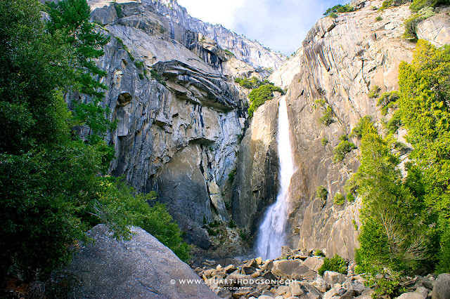 Yosemite National Park Yosmite weather camping San Francisco Waterfall-upper-falls Walk Hike Trip travel hotel