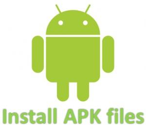 Cara Menginstall Aplikasi apk dan Games APK ke Ponsel maupun tablet pc
