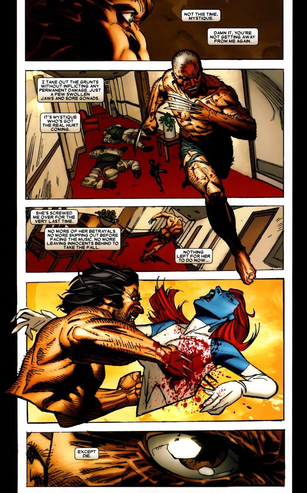 Read online Wolverine (2003) comic -  Issue #64 - 19