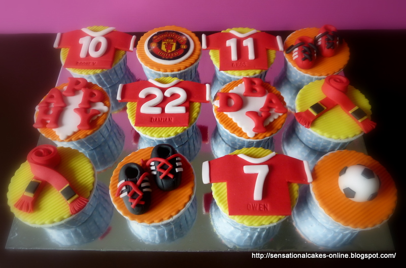 Happy Birthday Damian Football Cake