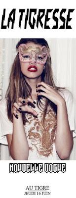 >Soirée La Tigresse, spécial BLOG @ Le Tigre