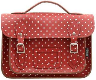 Yoshi satchel bag polka-dots