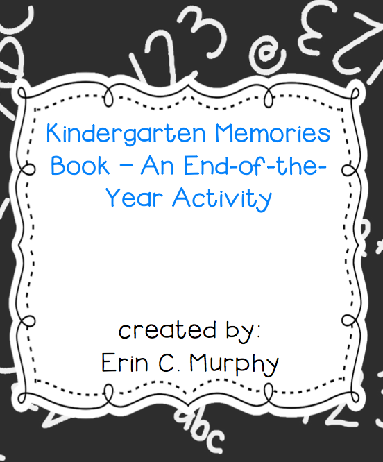 http://www.teacherspayteachers.com/Product/My-Kindergarten-Memories-Book-1261729
