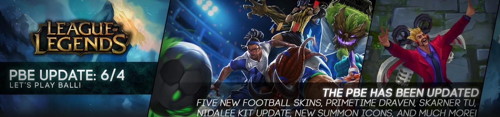 Skins fútbol [Lol]