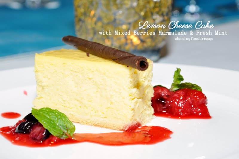 Wine Pairing With Lemon Chesse Cake