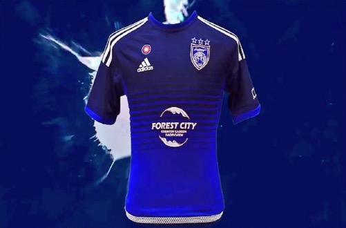 Baju Jersi Baru Johor JDT Musim 2016