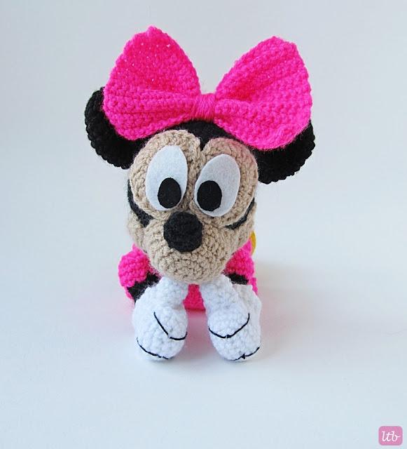 Amigurumi Free Minnie Mouse Pattern : {Amigurumi Minnie Mouse} - Little Things Blogged