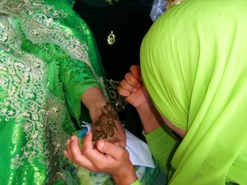 العرس المغربي لتزيين العروس