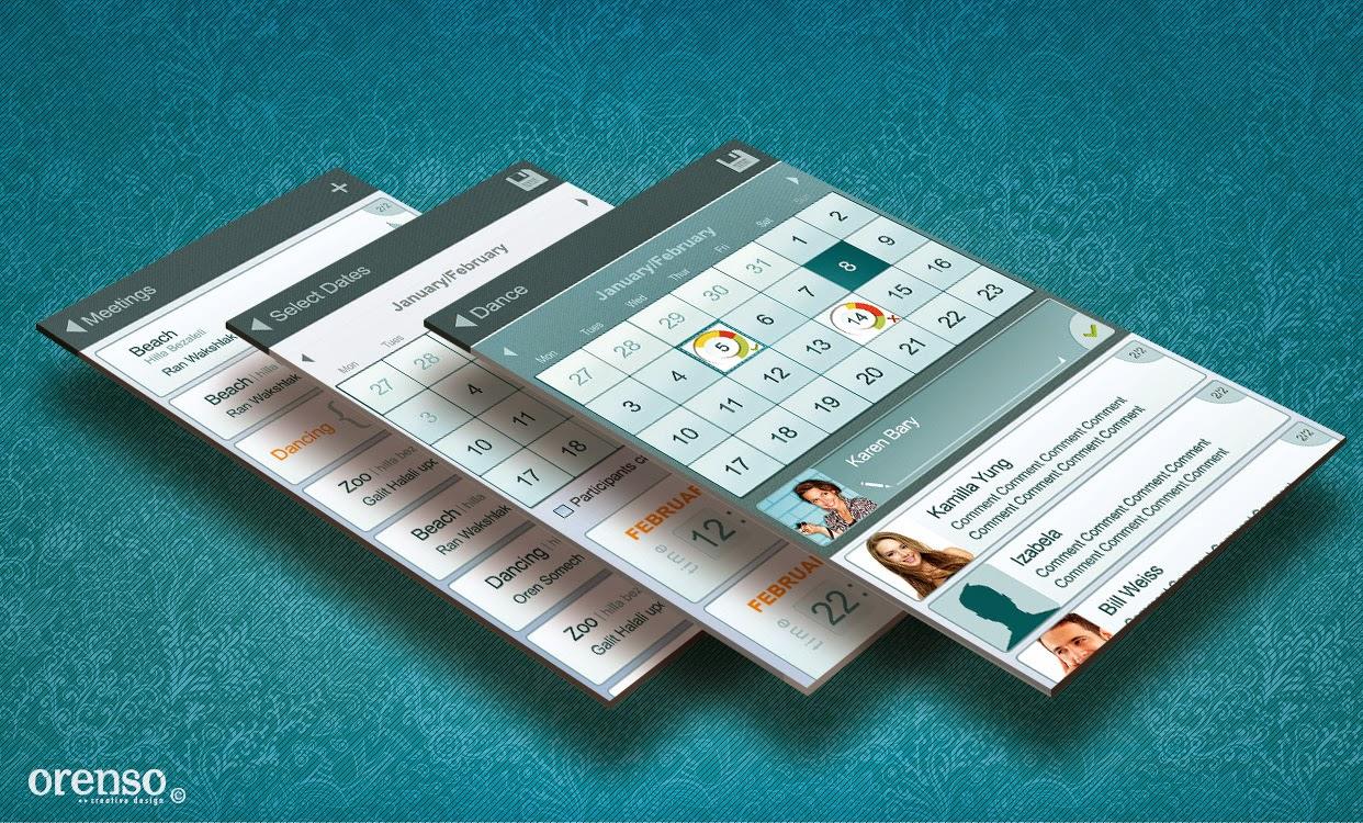 SubMeet UI and branding Design